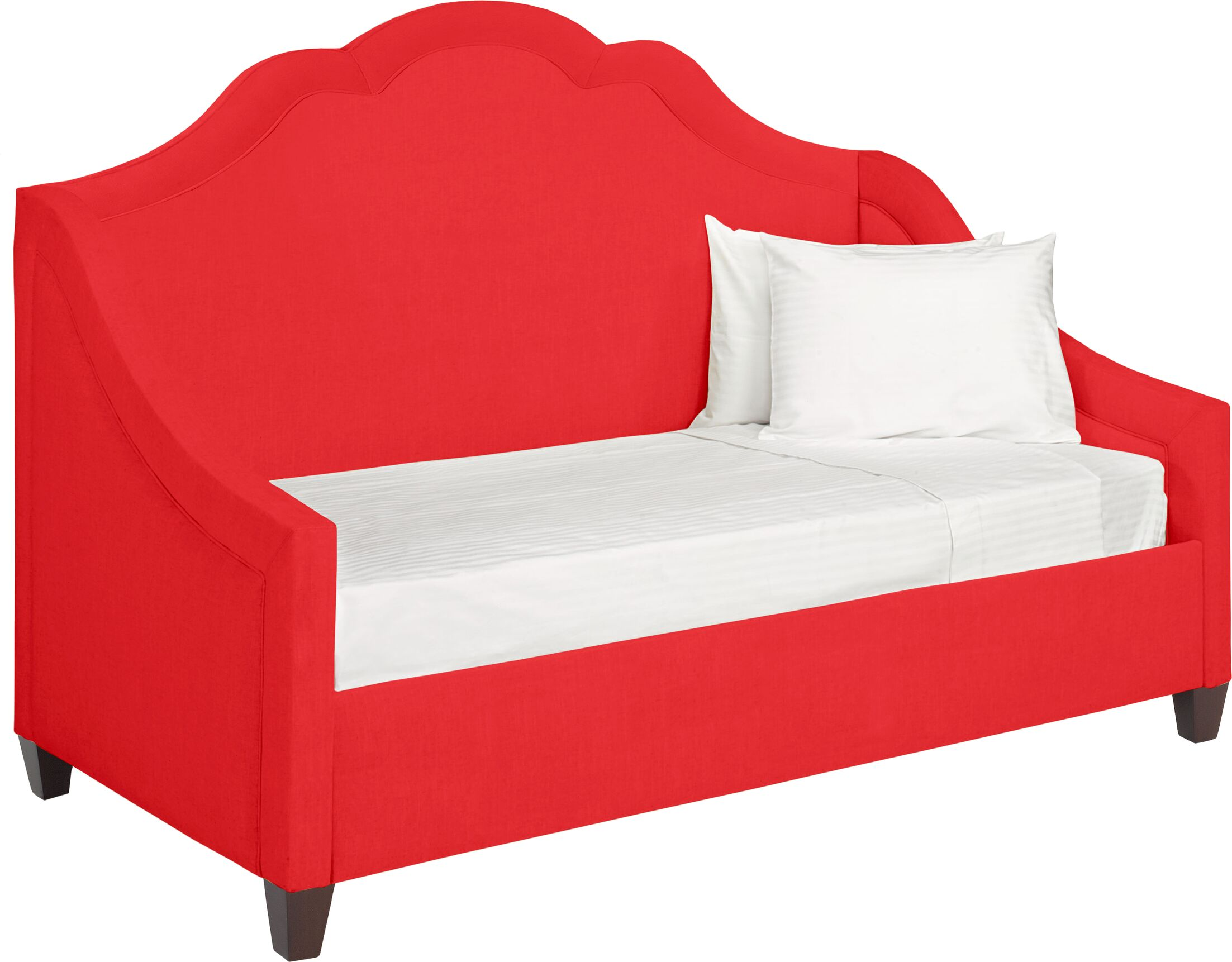 Dreamtime Daybed with Mattress Color: Scarlet, Size: Twin XL