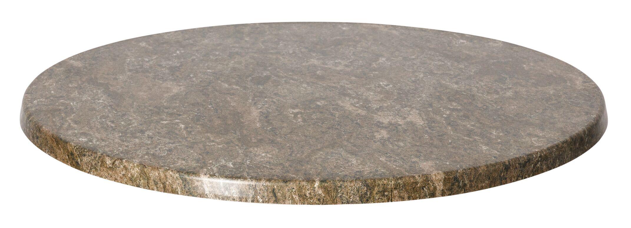 SoHo Table Top Color: Gray Slate, Size: 36