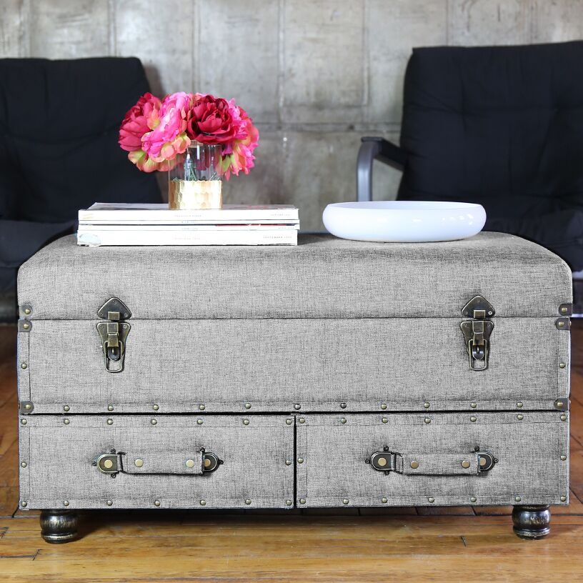 Cesare Coffee Table Color: Gray