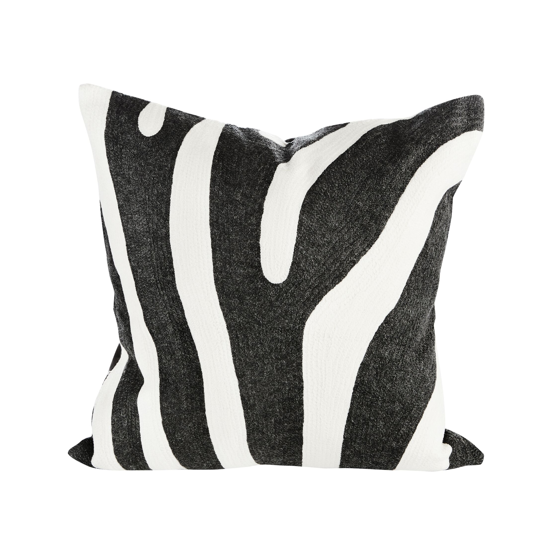 Noir Velvet Throw Pillow (Set of 2)