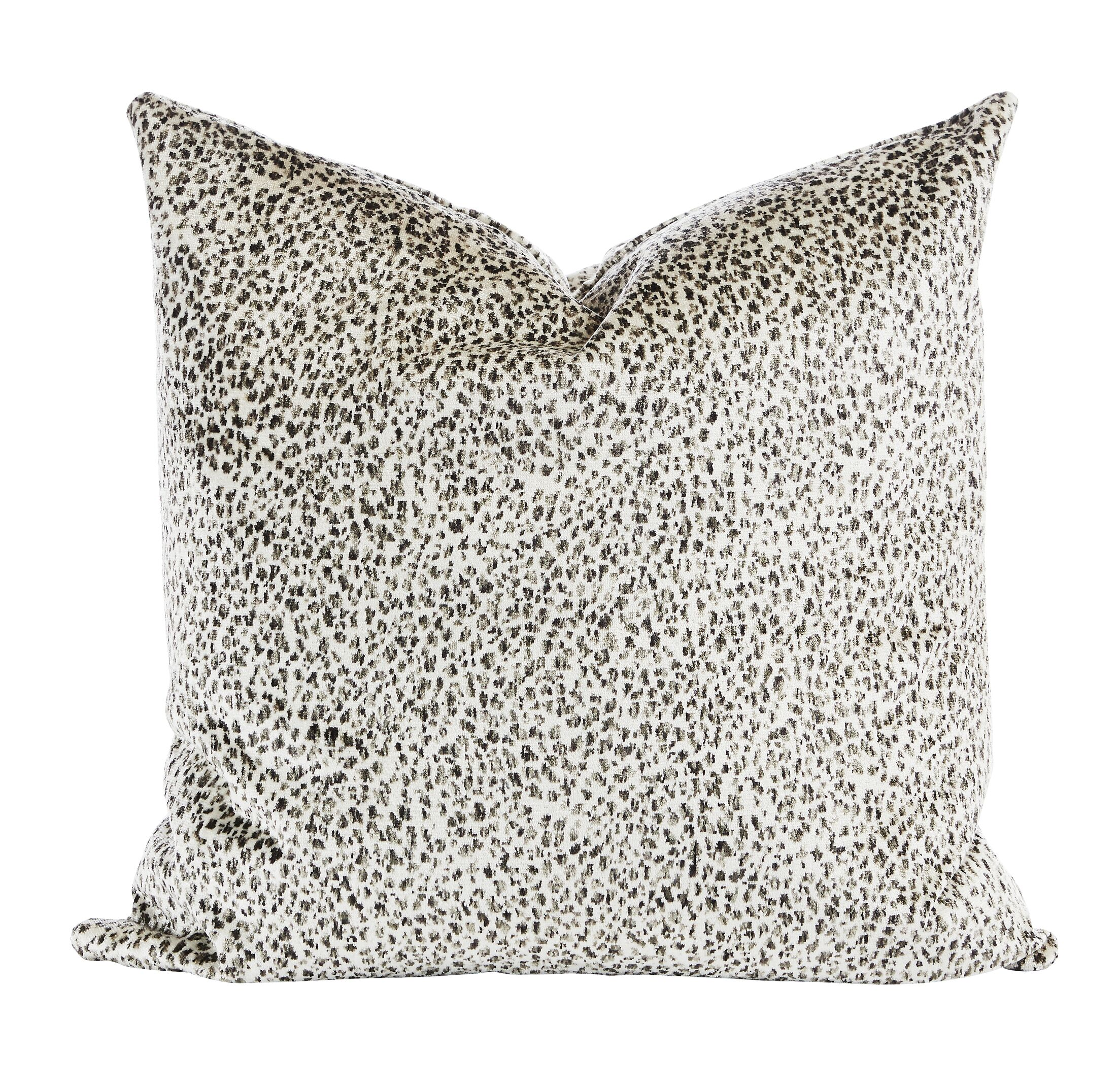 Smoky Velvet Throw Pillow (Set of 2)
