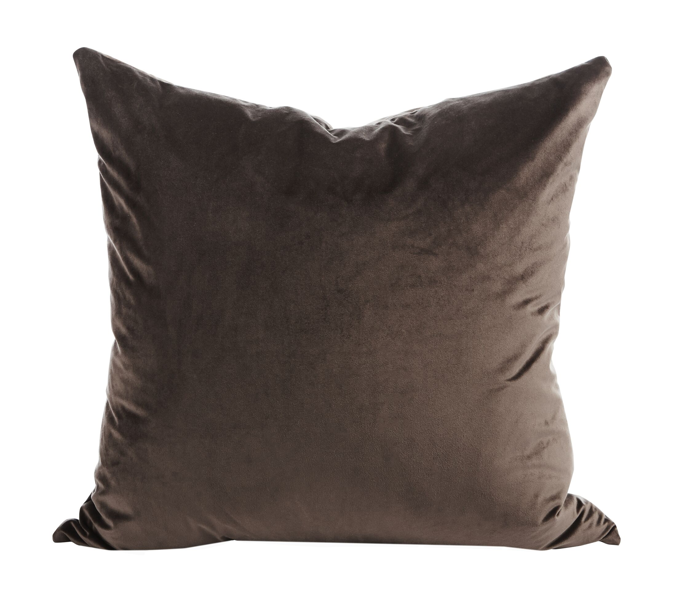 Old Fashion Throw Pillow (Set of 2) Color: Chocolate