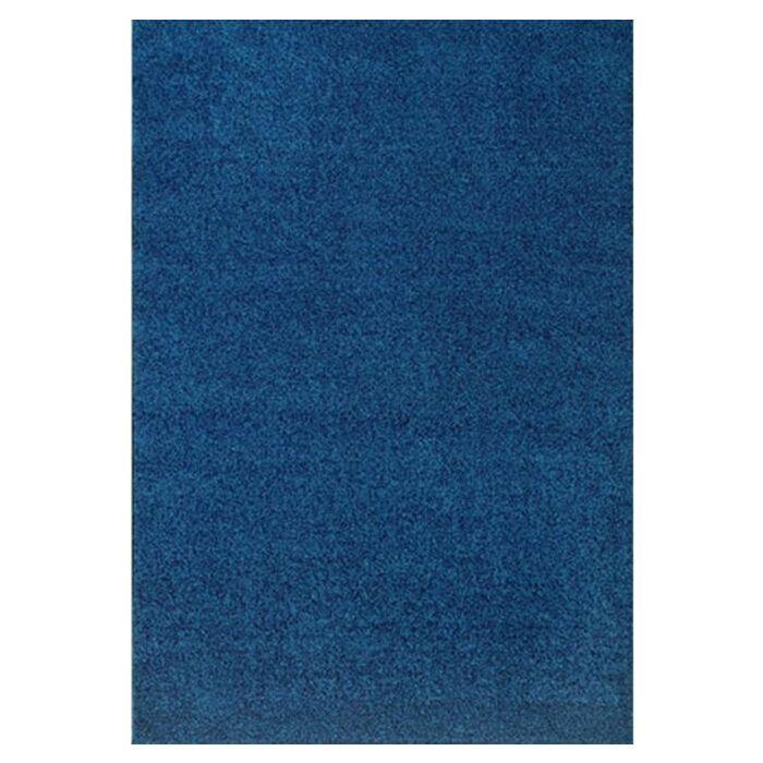 Modern Times Harmony Blue Jay Area Rug Rug Size: Oval 5'4