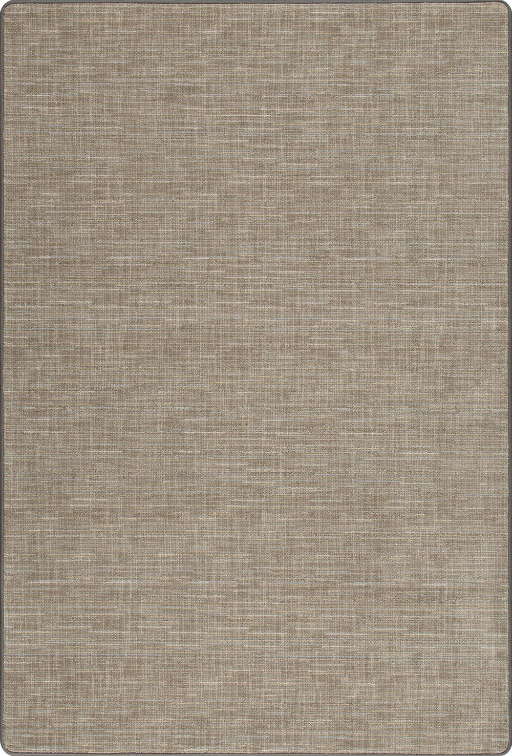 Risborough Broadcloth Silvered Taupe Area Rug Rug Size: Rectangle 2'1
