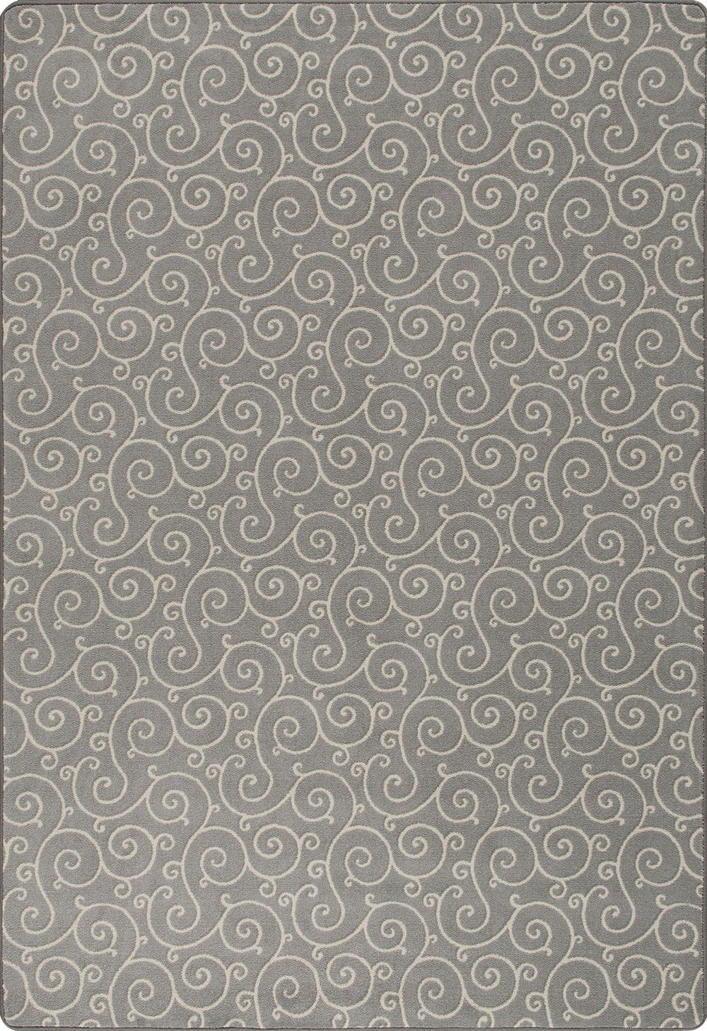 Booker Gray Area Rug Rug Size: Rectangle 2'1