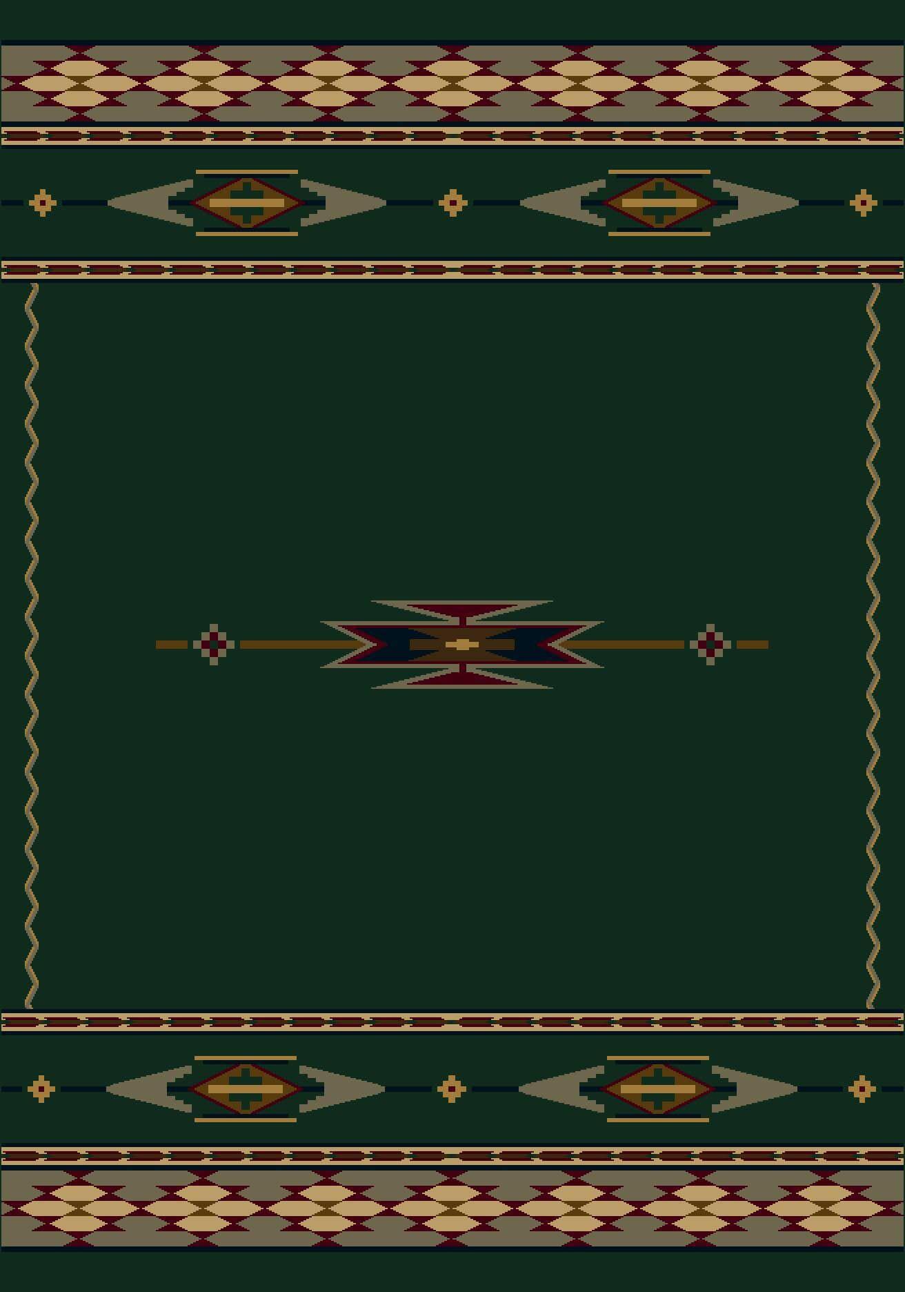 Signature Eagle Canyon Emerald Area Rug Rug Size: Oval 5'4