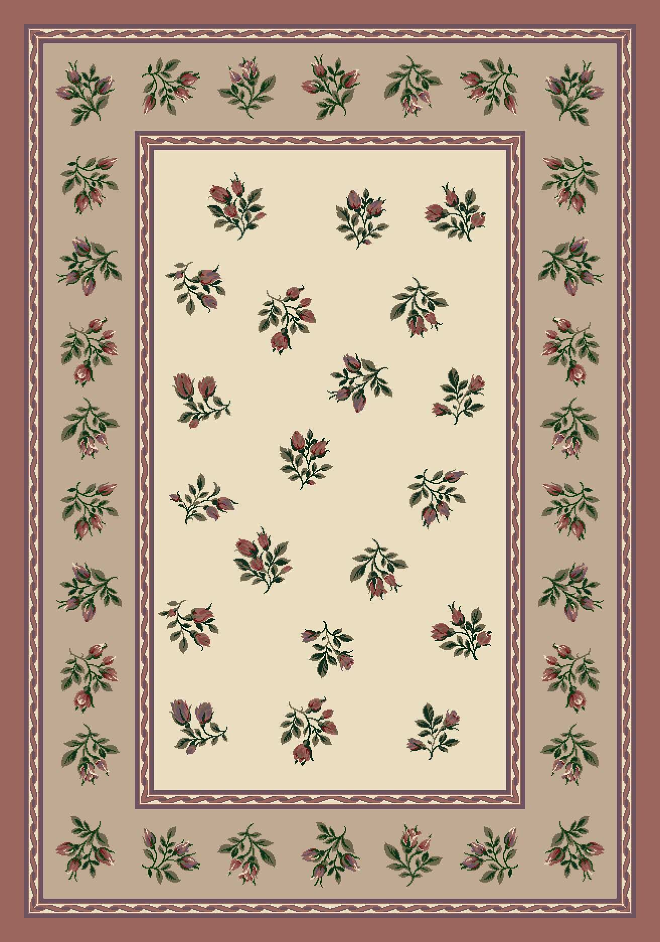 Signature Francesca Light Rose Area Rug Rug Size: Round 7'7