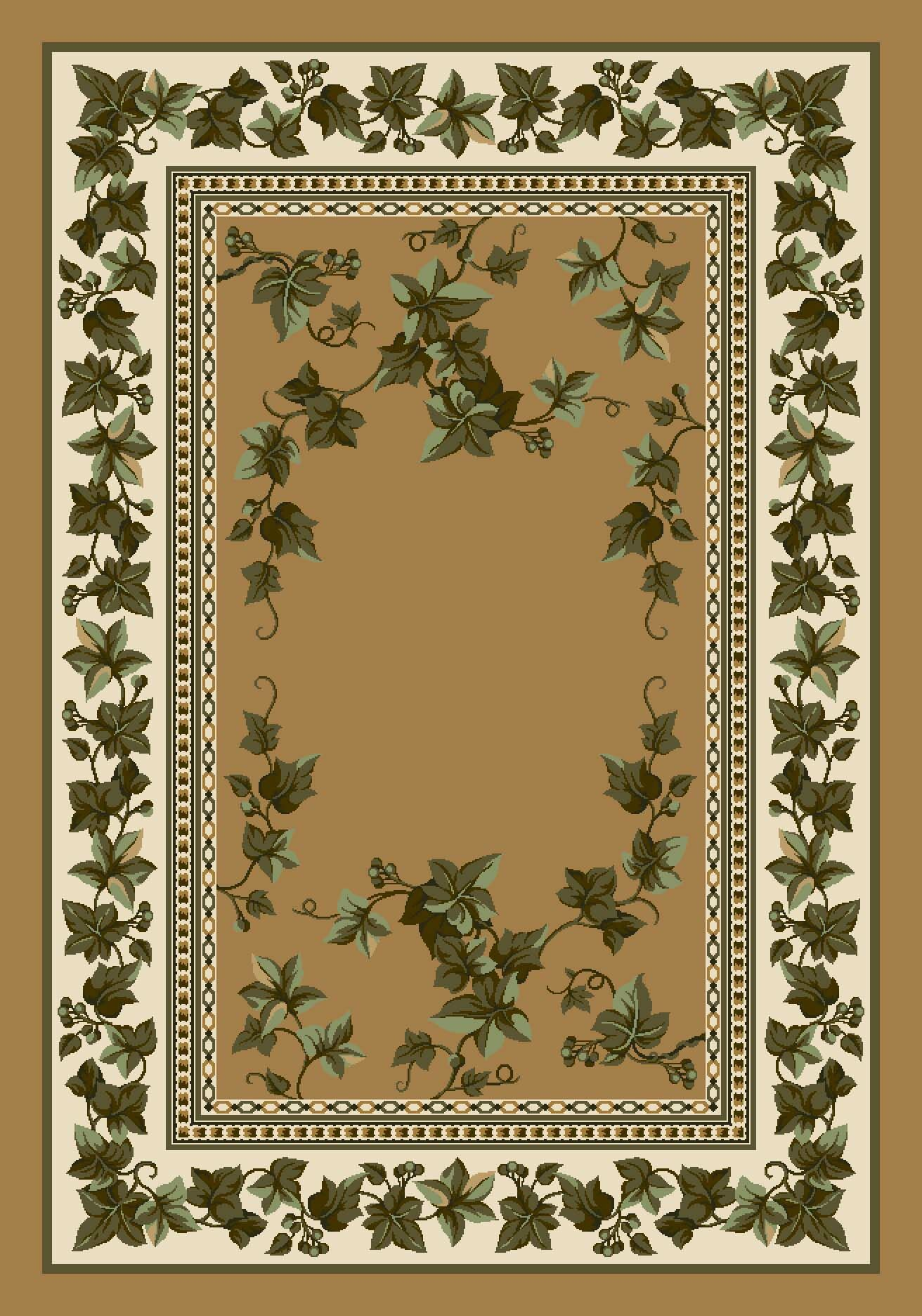 Signature Ivy Valley Maize Area Rug Rug Size: Rectangle 10'9