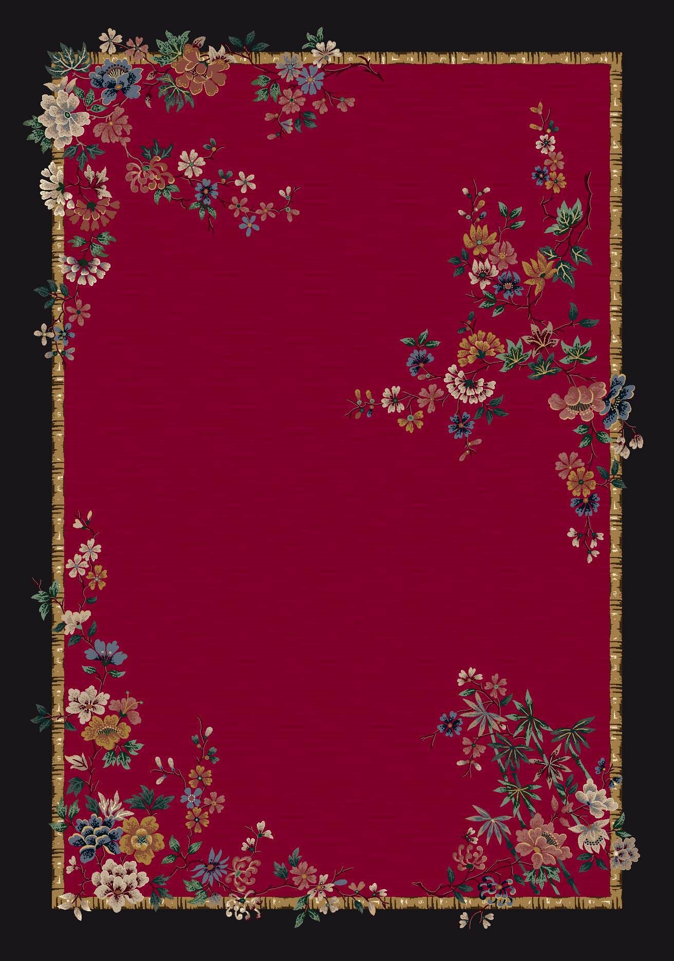 Signature Mindre Ruby Area Rug Rug Size: Rectangle 10'9