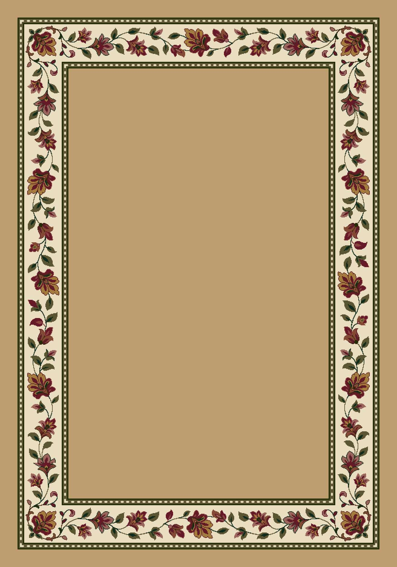 Signature Symphony Wheat Solid Area Rug Rug Size: Rectangle 5'4