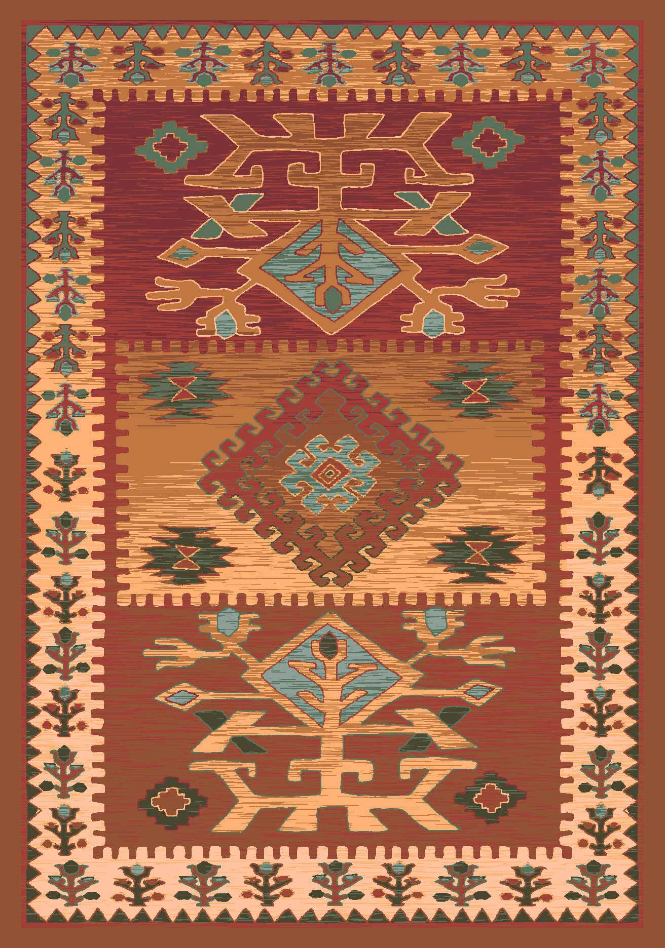 Pastiche Ahvas Toffee Rug Rug Size: Rectangle 2'1