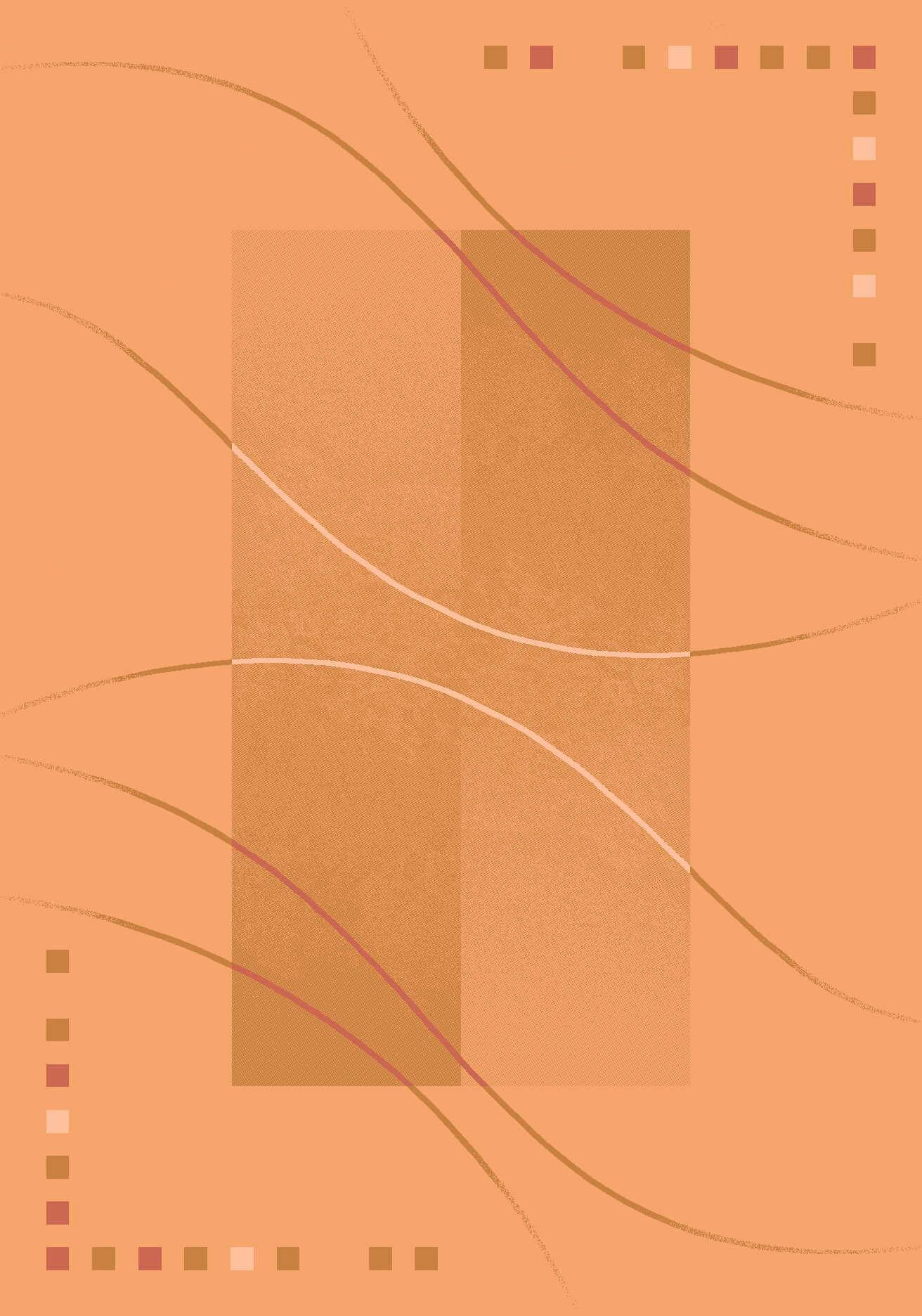 Pastiche Caliente Flaxen Orange Area Rug Rug Size: Round 7'7