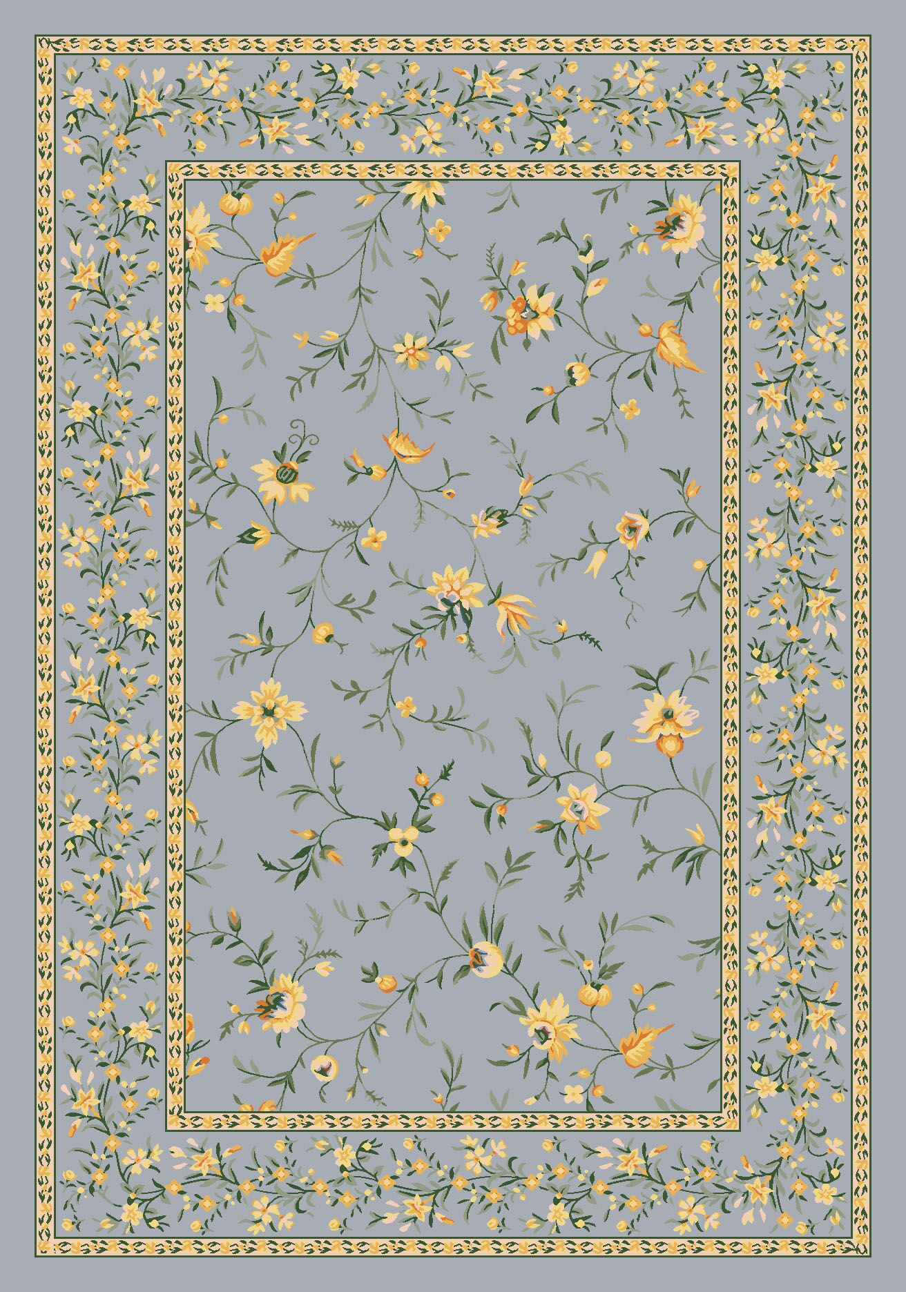 Pastiche Hampshire Storm Rug Rug Size: Rectangle 5'4
