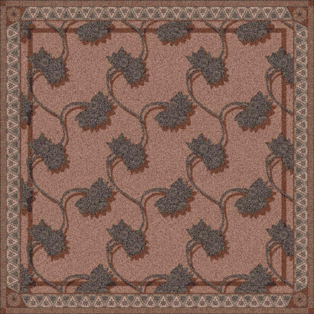 Pastiche Bantam Mink Rug Rug Size: Square 7'7
