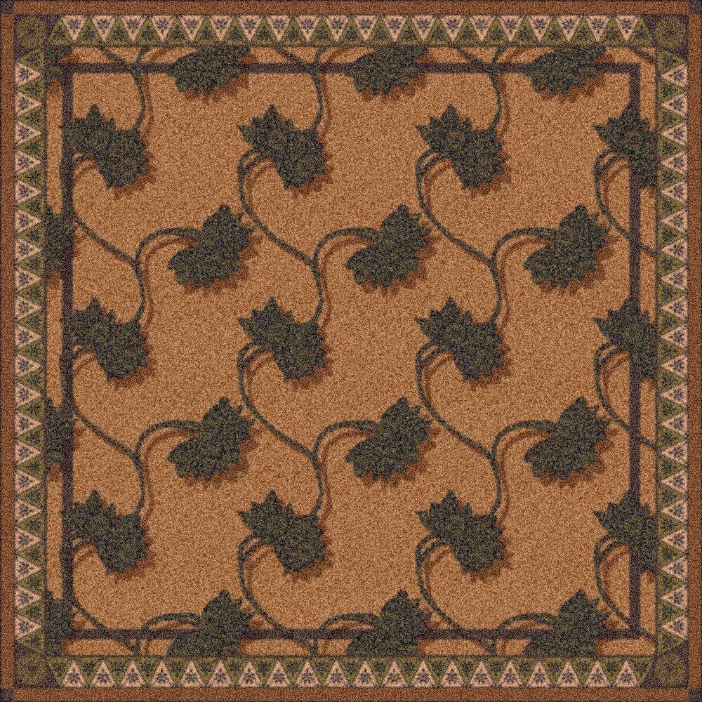 Pastiche Bantam Walnut Rug Rug Size: Rectangle 2'1