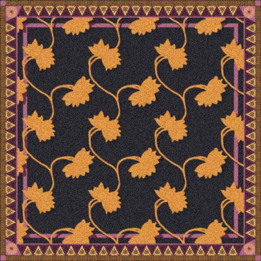 Pastiche Bantam Ebony Rug Rug Size: Rectangle 3'10