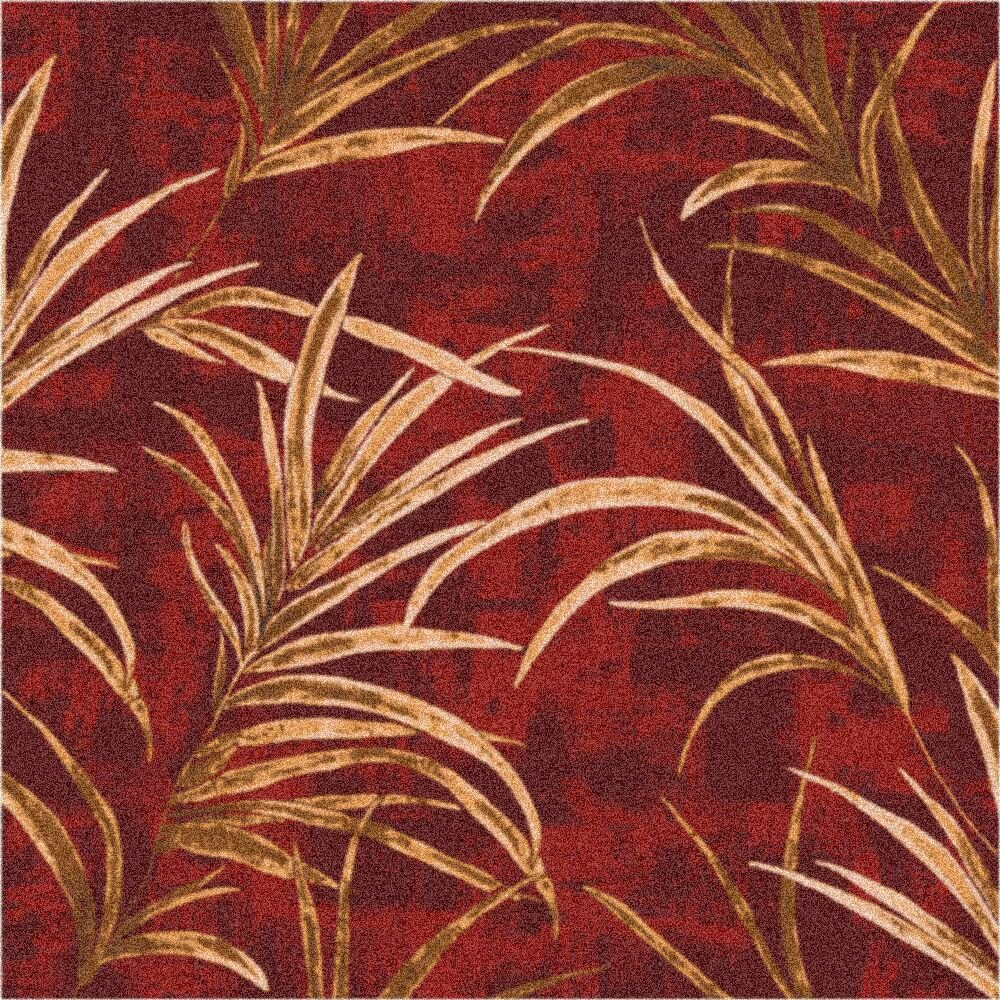 Pastiche Rain Forest Russet Area Rug Rug Size: Oval 3'10