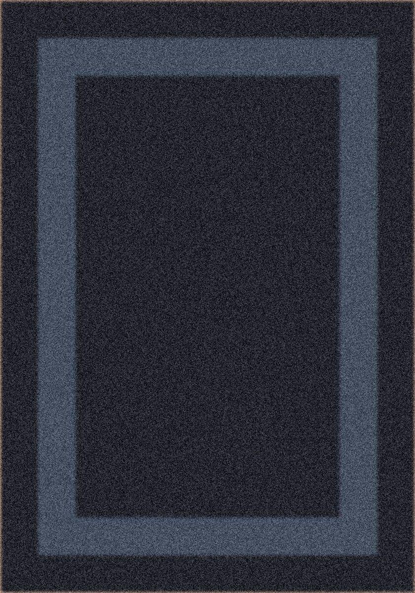 Modern Times Bailey Ebony Area Rug Rug Size: Rectangle 7'8