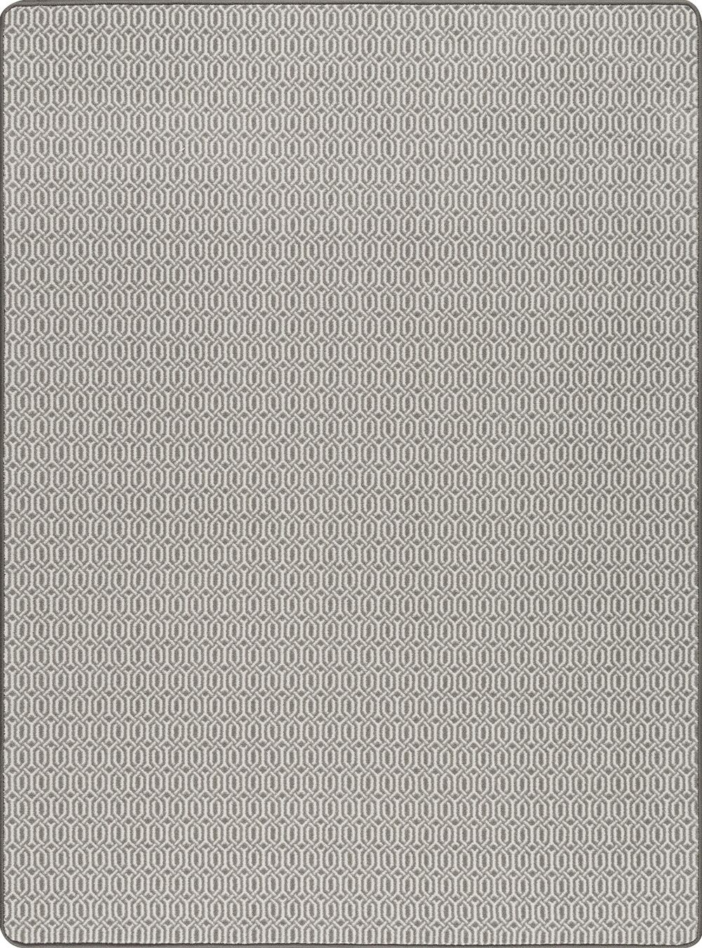 Broom Pewter Area Rug Rug Size: Rectangle 3'10