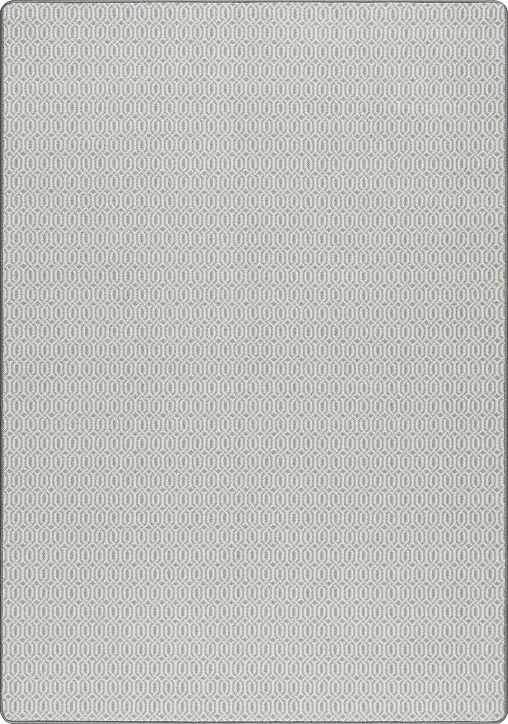 Broom Gray Area Rug Rug Size: Rectangle 5'4