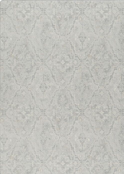 Talbotton Gray Area Rug Rug Size: Rectangle 5'4