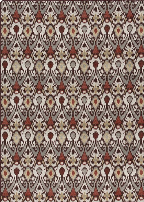Roundtree Gray/Brown Area Rug Rug Size: Rectangle 2'8