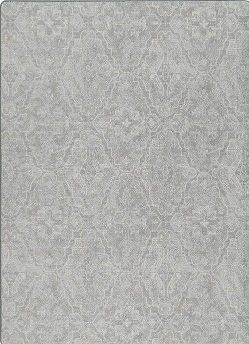 Talbotton Gray Area Rug Rug Size: Rectangle 5'4