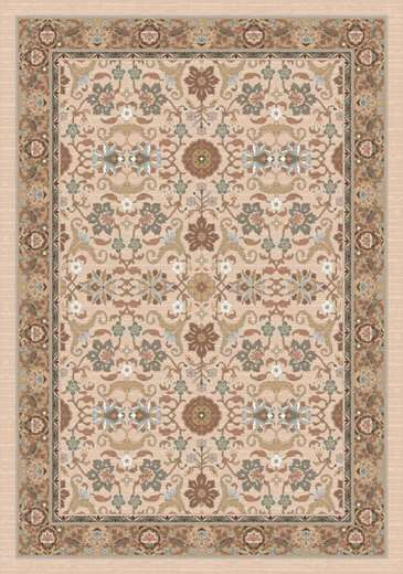 Pastiche Kamil Acorn Rug Rug Size: Oval 7'8