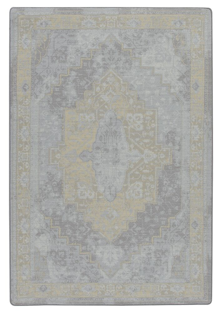 Tate Silver Candlelight Area Rug Rug Size: Rectangle 5'4
