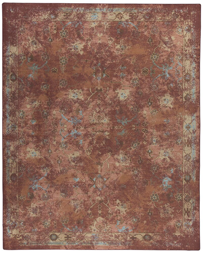 Tate Adobe Red Area Rug Rug Size: Rectangle 10'9