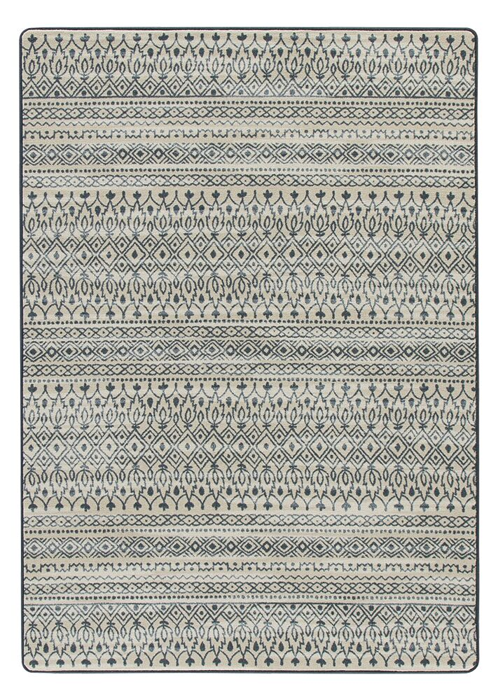 Tate Blue/Beige Area Rug Rug Size: Rectangle 10'9
