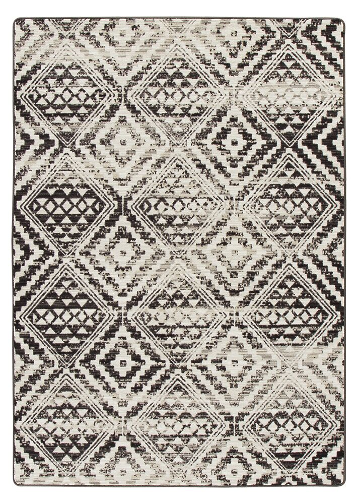 Tate Dark Slate Area Rug Rug Size: Rectangle 3'10