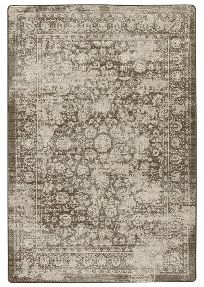 Abba Shaded Khaki Area Rug Rug Size: Rectangle 7'8