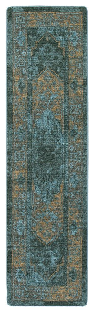 Tate Peacock Area Rug Rug Size: Runner 2'1