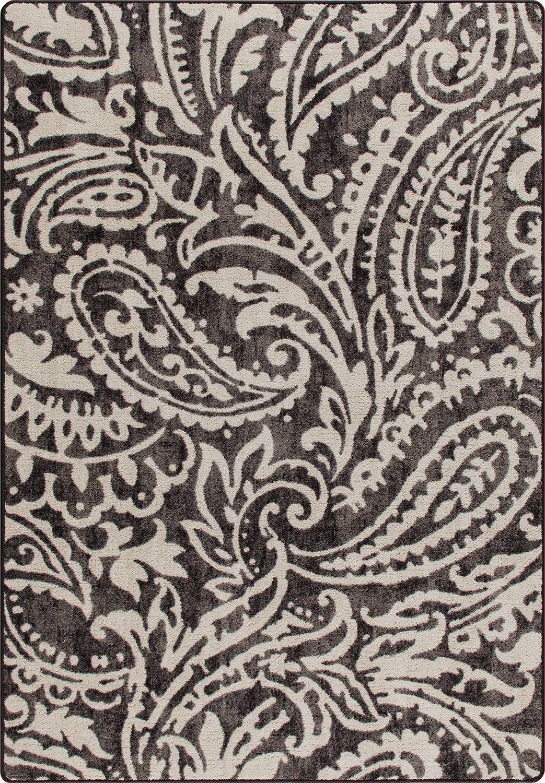 Mix and Mingle Wrought Iron Cashmira Rug Rug Size: Rectangle 3'10