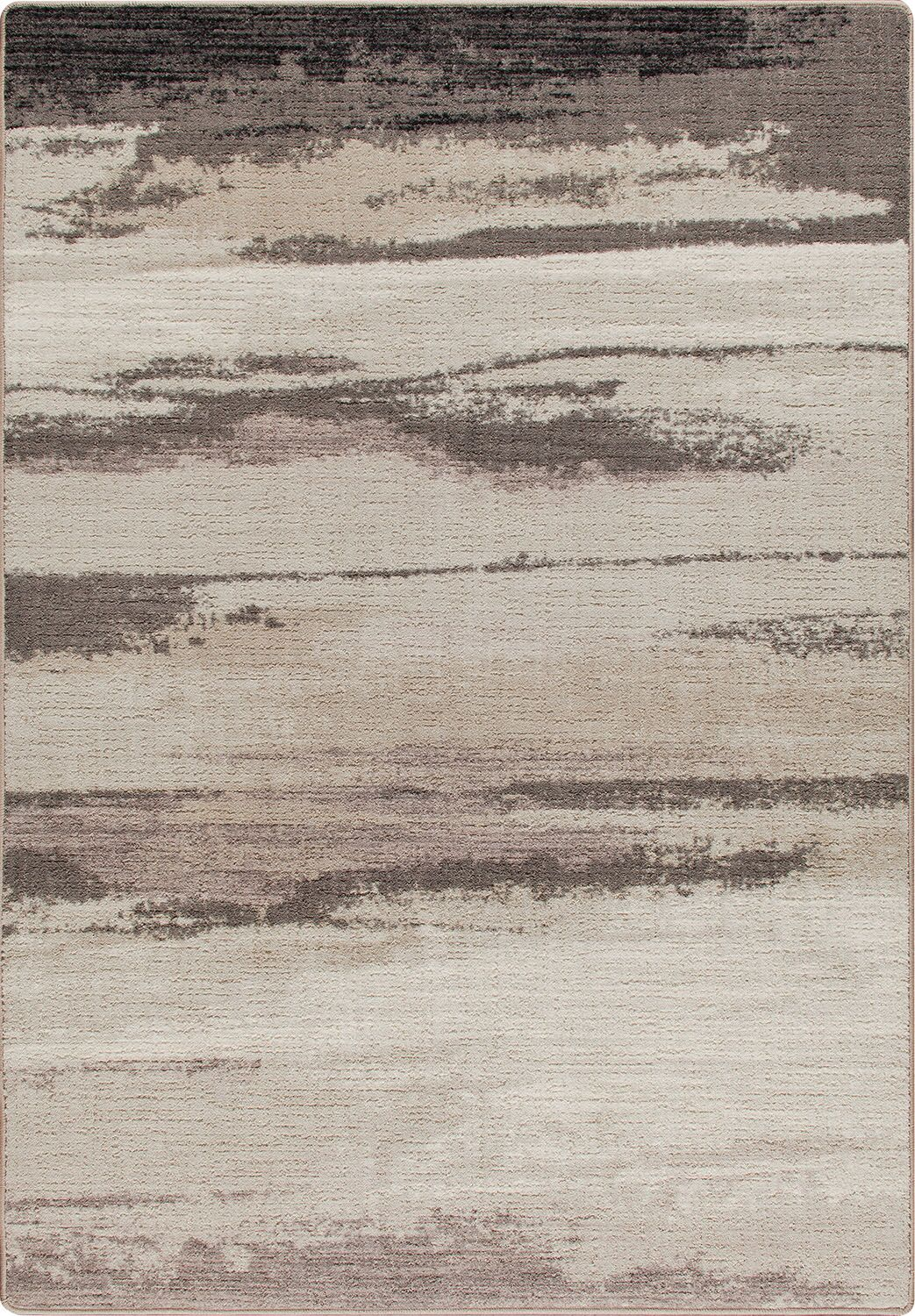 Mix and Mingle Plum Frost Cloudbreak Rug Rug Size: Rectangle 3'10