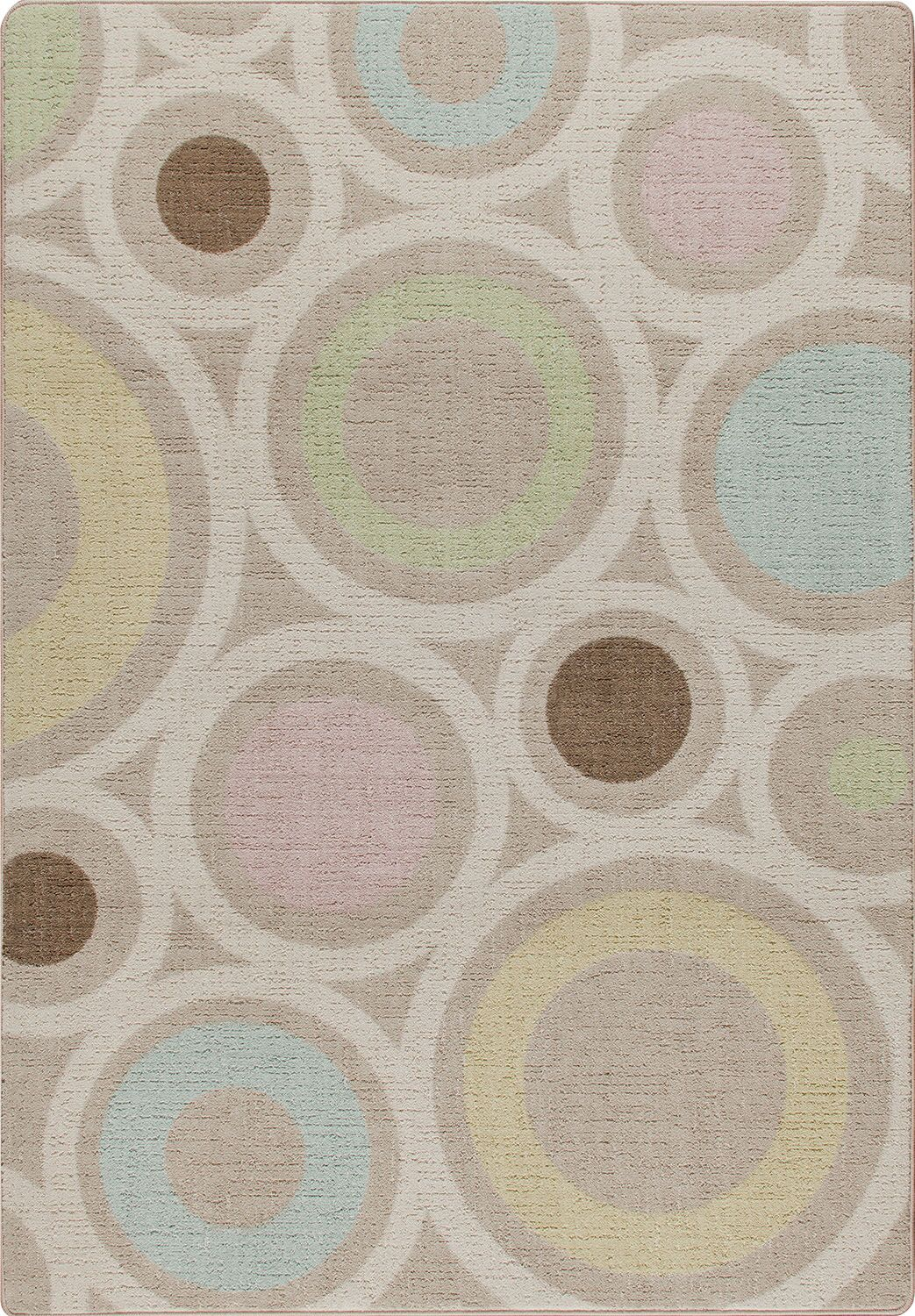 Mix and Mingle Pastel in Focus Area Rug Rug Size: Rectangle 3'10