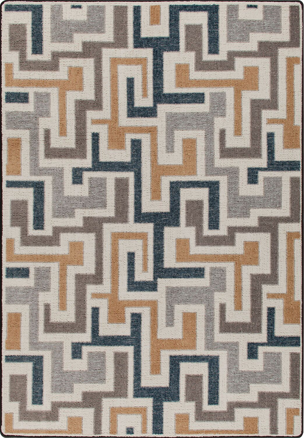 Mix and Mingle Stone Junctions Rug Rug Size: Runner 2'1