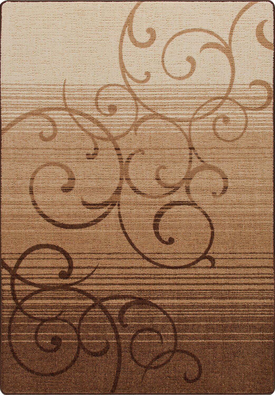 Mix and Mingle Umber Whispering Wind Rug Rug Size: Rectangle 7'8