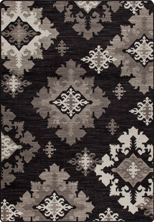 Mix and Mingle Onyx Highland Star Rug Rug Size: Rectangle 5'4