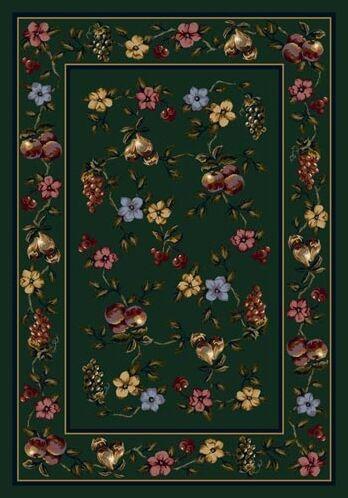 Signature Lorelei Emerald Area Rug Rug Size: Rectangle 3'10