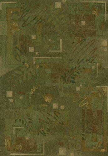 Innovation Twill Olive Autumn Area Rug Rug Size: Rectangle 7'8