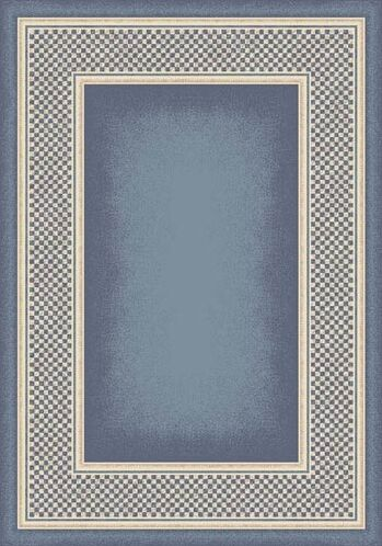 Innovation Light Lapis Old Gingham Area Rug Rug Size: Square 7'7