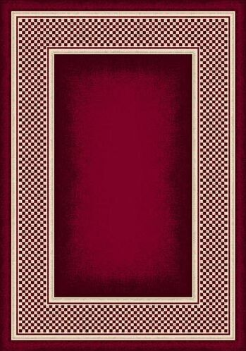 Innovation Ruby Old Gingham Area Rug Rug Size: Rectangle 7'8