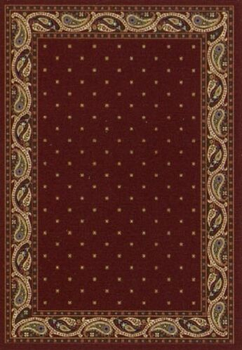 Innovation Garnet Paisley Area Rug Rug Size: Rectangle 3'10