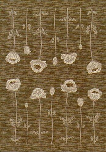 Innovation Oregano Poppy Area Rug Rug Size: Rectangle 5'4