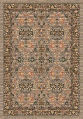 Pastiche Kamil Hillcrest Sage Folk/Tribal Rug Rug Size: Round 7'7