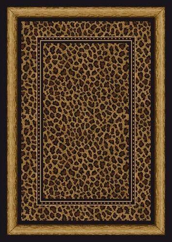 Signature Zambia Print Onyx Area Rug Rug Size: Rectangle 5'4