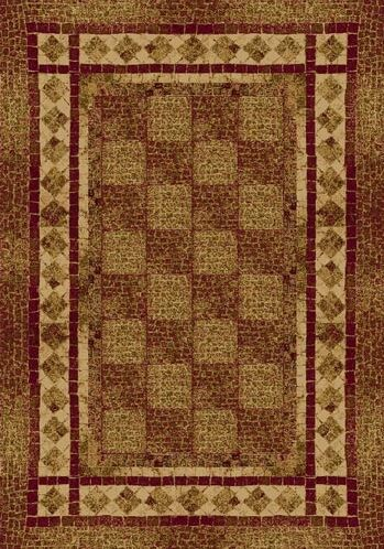 Innovation Brick Flagler Area Rug Rug Size: Round 7'7