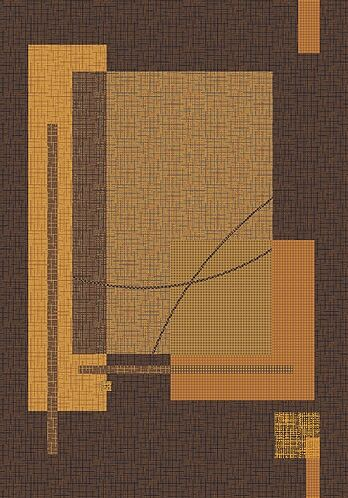 Pastiche Fairmont Brown Rug Rug Size: Octagon 7'7